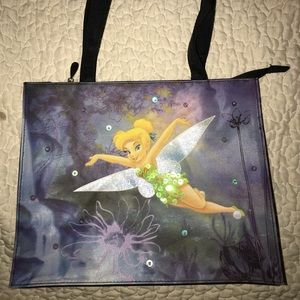 Disney Tinkerbell Sequin Purse. NWOT. Never used.
